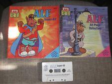 Rare Vintage~Talking Alf the Storytelling Alien Cassette Tape & 2 Books