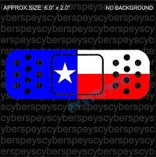 Texas Flag Band-Aid Design Drift Racing Car Vinyl Sticker Decals