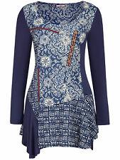 Joe Browns BLUE Mystical Mix & Match Blouse Tunic Plus Size 26 to 32 (Style 2)