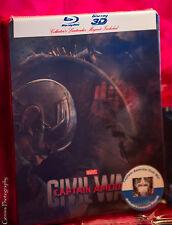 Captain America: Civil War Ultimate Lenticular Steelbook + Postcards + Magnet