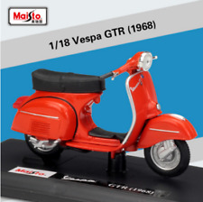 Maisto 1:18 Vespa  GTR 1968 Diecast Motorcycle Scooter Model Toy New