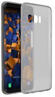 mumbi Hülle für Samsung Galaxy S8 Schutzhülle UltraSlim tr. schwarz Case Tasche