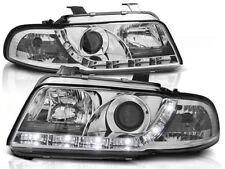 LED HEADLIGHTS LPAU25 AUDI A4 SALOON ESTATE 1994 1995 1996 1997 1998 CHROME