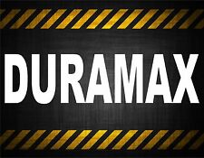 Duramax 22'' decal vinyl car sticker diesel window banner powestroke duramax