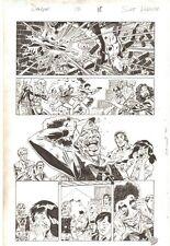 Deadpool #13 p.18 Iron Fist & Power Man - Dpool Unmasked 2013 by Scott Koblish Comic Art