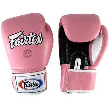 Fairtex Breathable Boxing Gloves - BGV1 - Pink Muay Thai Kickboxing MMA