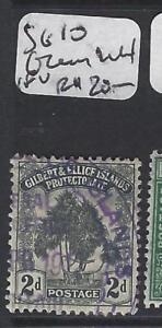 GILBERT AND ELLICE ISLANDS (P1804B)  TREE 2 D  SG 10    VFU
