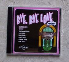 "CD AUDIO MUSIQUE / VARIOUS ""BYE, BYE LOVE"" 15T CD COMPILATION 2010 NEUF"