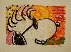 """Tom Everhart """"POP STAR""""  """"SNOOPY"""" """"PEANUTS"""" Lithograph S/N with a COA! Last One!"""