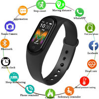 M5-Smart Band Watch Bracelet Blood Pressure Heart Rate Fitness Tracker Wristband