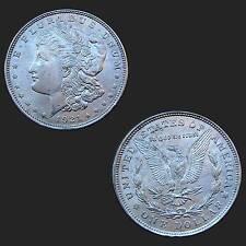 USA 1 $ Morgan Dollar 1921  Silbermünze 900/1000 gebraucht #1