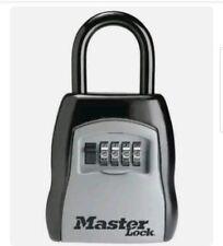Master Lock 5400d Lock Box Portable Security Safe 4 Digit Padlock 5 Keys