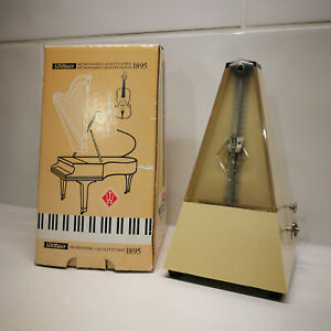 NEW Boxed Wittner 817K Metronome With Bell Ivory for Piano Made in West Germany