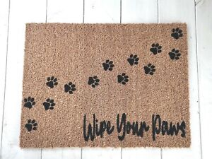 Natural Coir Doormat Wipe Your Paws Mat Biodegradable Quality Eco Friendly
