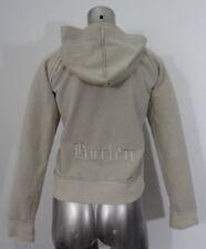 Hurley women's embroidered logo hoodie jacket S