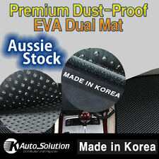 Dust Proof Dual Mats EVA black Fits Toyota Yaris Hatch YR YRS YRX 2008 - 2011