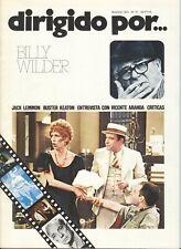 Dirigido por nº 21: Billy Wilder