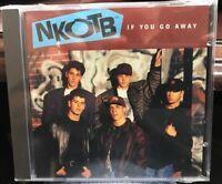 NEW KIDS ON THE BLOCK NKOTB IF YOU GO AWAY CD SINGLE COL CSK4462 DJ PROMO SEALED