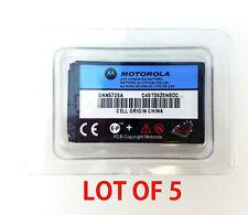 5x Oem Motorola Battery Snn5725A for C332t C333c C341c T720c T721g T722i V810