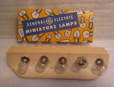 Box Of 10 GE General Electric No. 39 GE39 Miniature Radio Light Bulb Lamps USA