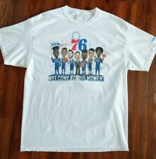 "Philadelphia 76ers SGA ""Welcome To The Moment"" Opening Night T-Shirt 2017-18 XL"