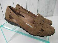 Lifestride Women's Dee Slip on Comfort Ballet Flat Tan - Size 7 Wide  -SS0213