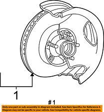 FORD OEM Front Brake-Disc Rotor 4L5Z1102BA