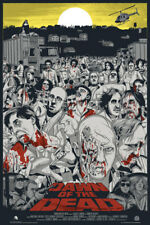 Dawn of the Dead by Jeff Proctor MONDO Mystery Movie SOLD OUT XX/750