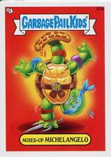 Garbage Pail Kids Mini Cards 2013 Base Card 90a Mixed-Up MICHELANGELO