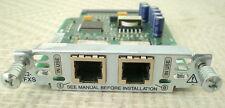 Cisco vic2-2fxs 2-Port Voice Interface Card funzione testato