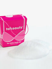 Commando Takeouts Silicone Gel Breast Enhancers Accessory (One Size Clear)