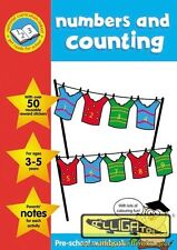 NUMBERS & COUNTING PRE-SCHOOL WORK BOOK & REWARD STICKERS NATIONAL CURRICULUM