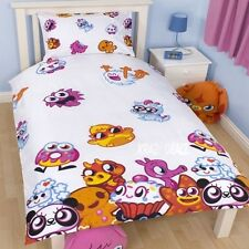 Moshi Monsters Moshlings Single Duvet Cover Bed Set Iggy Flumpy Cutie Pie Shishi