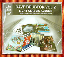 DAVE BRUBECK - EIGHT CLASSIC ALBUMS  Vol.2    4CD Set Remastered  Jazz  SEALED