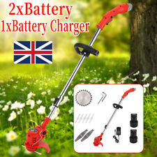 More details for electric handheld rechargeable cordless grass trimmer home electric garden edger