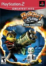 Ratchet & Clank: Going Commando (PlayStation 2) New in Shrink Wrap, not y-fold.