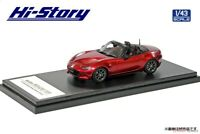 Hi Story 1/43 Mazda ROADSTER RS (2015) Soul Red Crystal Metallic Completed