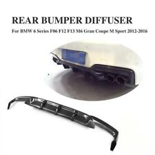 Carbon Fiber Rear Diffuser Lip for BMW F06 F12 F13 M6 M Sport M Tech 2012-2017