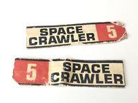 Matt Mason Space Crawler Stickers