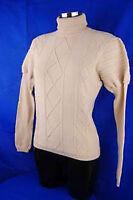 CHERVO Golf Damen Rollkragenpullover Pullover COMFORT Palanca beige Gr.36 2.Wahl