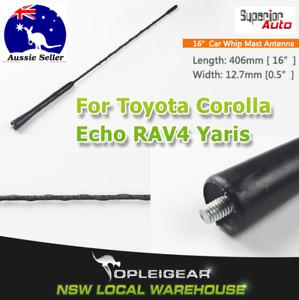"16"" Screw Antenna Car FM/AM Signal Aerial Renovate For Toyota Yaris Corolla RAV4"