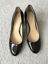Nine West Patent Leather Black Pumps Size 6.5