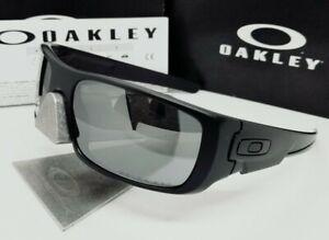 OAKLEY matte black iridium POLARIZED CRANKSHAFT OO9239-06 sunglasses NEW IN BOX!