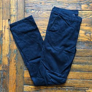 Left Field NYC Navy Twill Chino OG Excellent USA