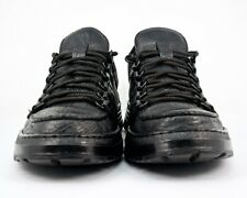 Mephisto Size 08 US Men's Black Leather Sneaker Good Condition ****