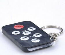 Universal Remote Control Infrared IR TV Set Mini with Keychain - 40 feet range
