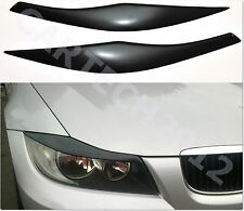 BMW E90, E91 Headlight  Eyebrows, Eyelids Cover ABS PLASTIC, tuning