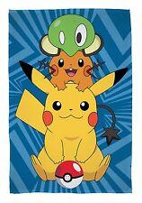 NUOVO Ufficiale Pokemon GO Catch in Pile Coperta Divano Letto Buttare CAMERA DA LETTO regalo presenti