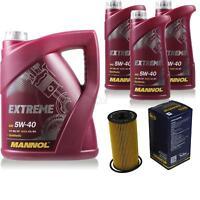 Ölwechsel Set 8L MANNOL Extreme 5W-40 Motoröl + SCT Filter KIT 10201080