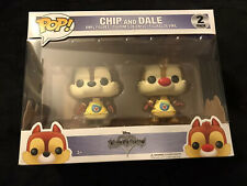 Funko POP:Chip and Dale Kingdom Hearts (2-Pack) Pop Vinyl Pop Disney *FREE SHIP!